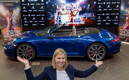 Anke Huber, Sportliche Leiterin Porsche Tennis Grand Prix
