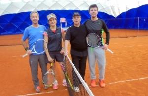Hansjörg Schwaiers, Frau Timmer, Peter Wüste und Robin Schweier